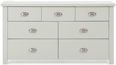 Mark Harris Sandringham Grey 4 over 3 Chest of Drawer