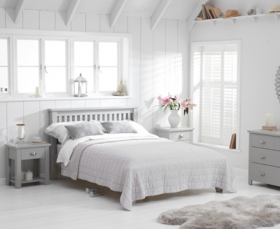 Mark Harris Sandringham Grey Bed Frame