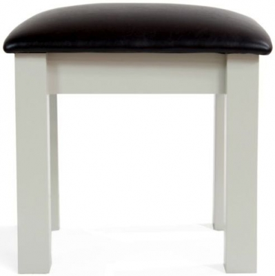 Mark Harris Sandringham Grey Dressing Table Stool