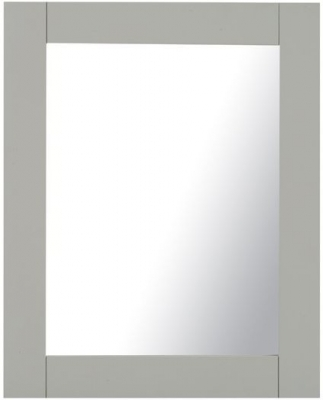 Mark Harris Sandringham Grey Medium Wall Mirror