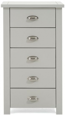 Mark Harris Sandringham Grey Tall 5 Chest of Drawer