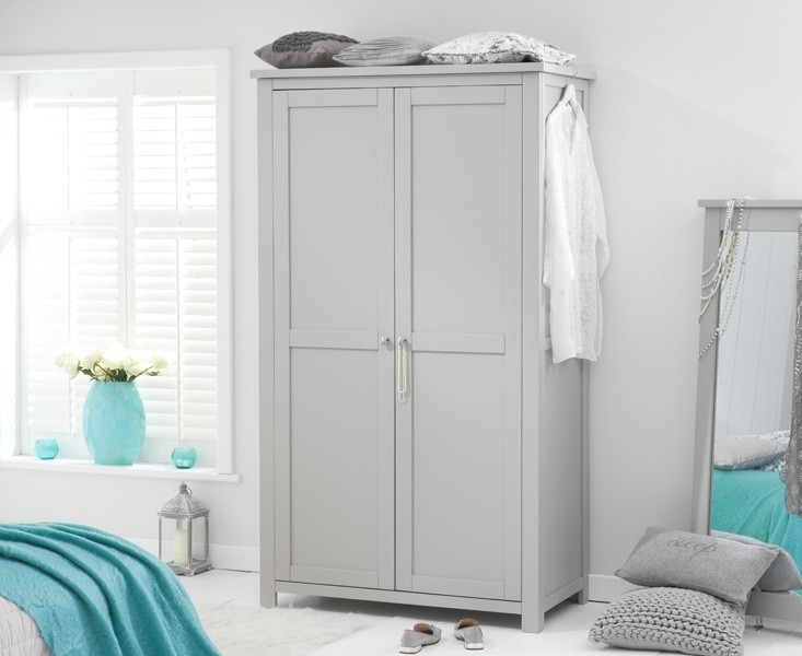 Mark Harris Sandringham Grey All Hanging Wardrobe
