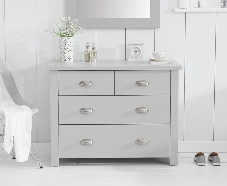 Mark Harris Sandringham Grey Painted 2+2 Drawer Chest