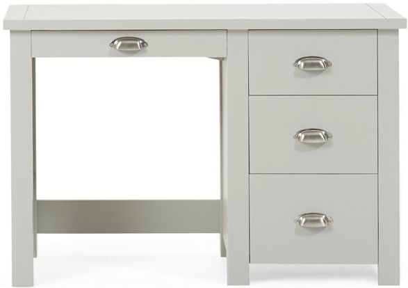 Mark Harris Sandringham Grey Single Pedestal Dressing Table