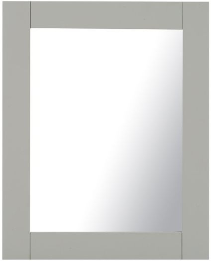 Mark Harris Sandringham Grey Wall Mirror - Medium