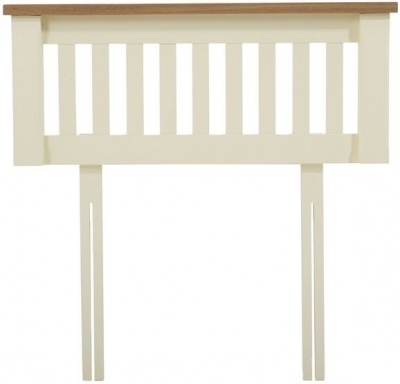 Mark Harris Sandringham Oak and Cream Headboard