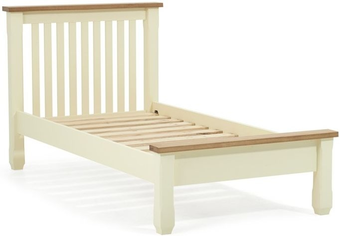 Mark Harris Sandringham Oak and Cream Bed Frame