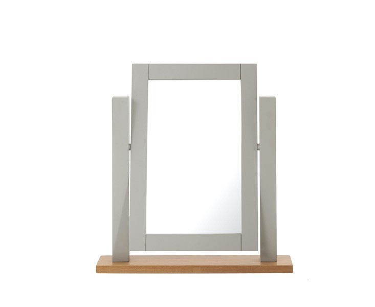 Mark Harris Sandringham Oak and Grey Dressing Mirror