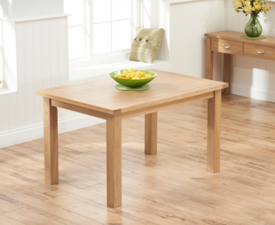 Mark Harris Sandringham Solid Oak 130cm Dining Table