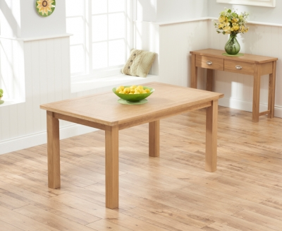 Mark Harris Sandringham Solid Oak 150cm Dining Table