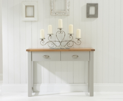 Mark Harris Sandringham Solid Oak Console Table