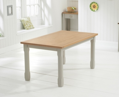 Mark Harris Sandringham Solid Oak Dining Table - 150cm