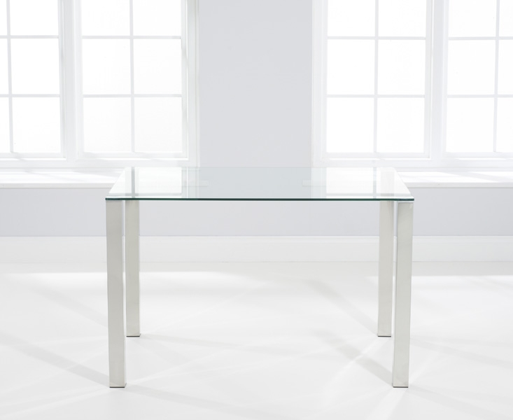 Mark Harris Sara Glass Dining Table - 120cm Rectangular