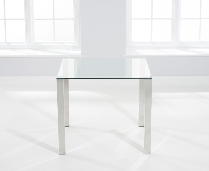 Mark Harris Sara Glass Dining Table - 90cm Square