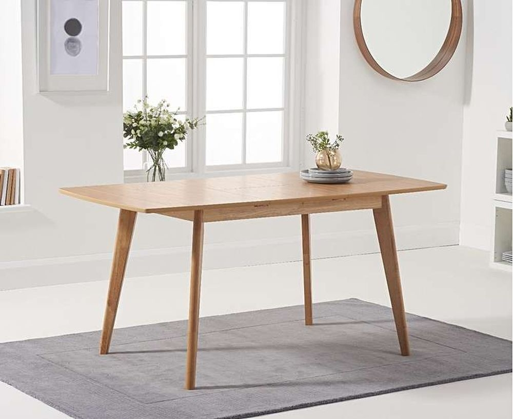 Mark Harris Seth Oak Extending Dining Table