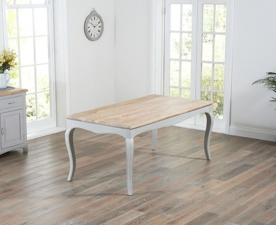 Mark Harris Sienna 175cm Grey Painted Dining Table