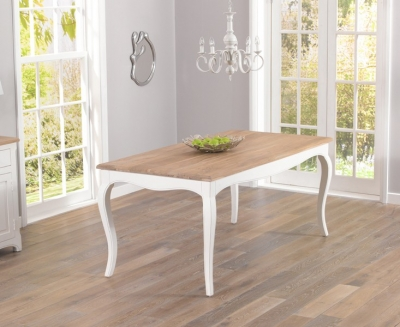 Mark Harris Sienna Ivory Painted Dining Table