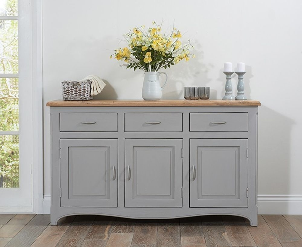 Mark Harris Sienna Grey Painted Sideboard