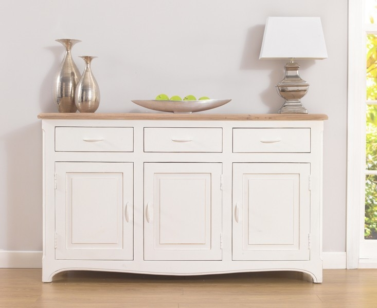 buy mark harris sienna shabby chic sideboard online cfs uk. Black Bedroom Furniture Sets. Home Design Ideas