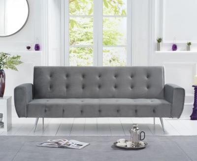 Mark Harris Valentina Grey Fabric Sofa Bed