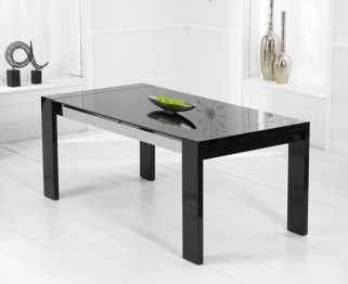 Mark Harris Sophia High Gloss Black Dining Table