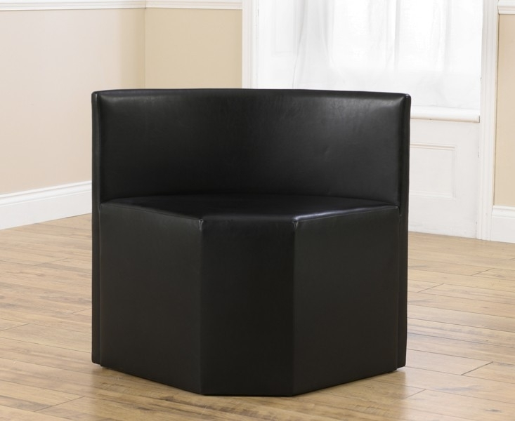 Mark Harris Sophia Black Faux Leather Chair (Pair)