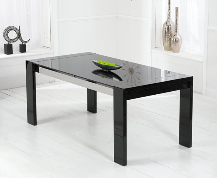 Mark Harris Sophia High Gloss Black Dining Table