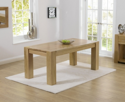 Mark Harris Tampa Solid Oak Dining Table - 220cm
