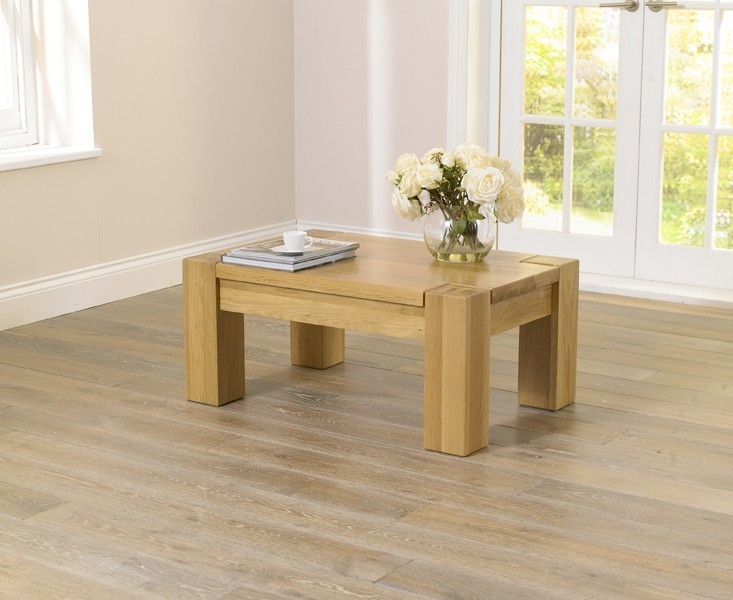 Mark Harris Tampa Solid Oak Coffee Table