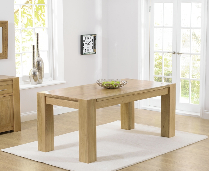 Mark Harris Tampa Oak Small Dining Table