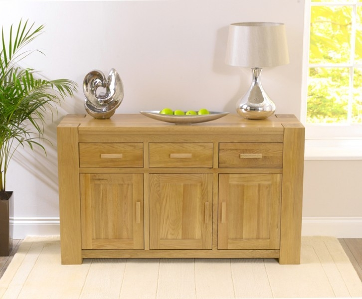 Mark Harris Tampa Solid Oak Large Sideboard