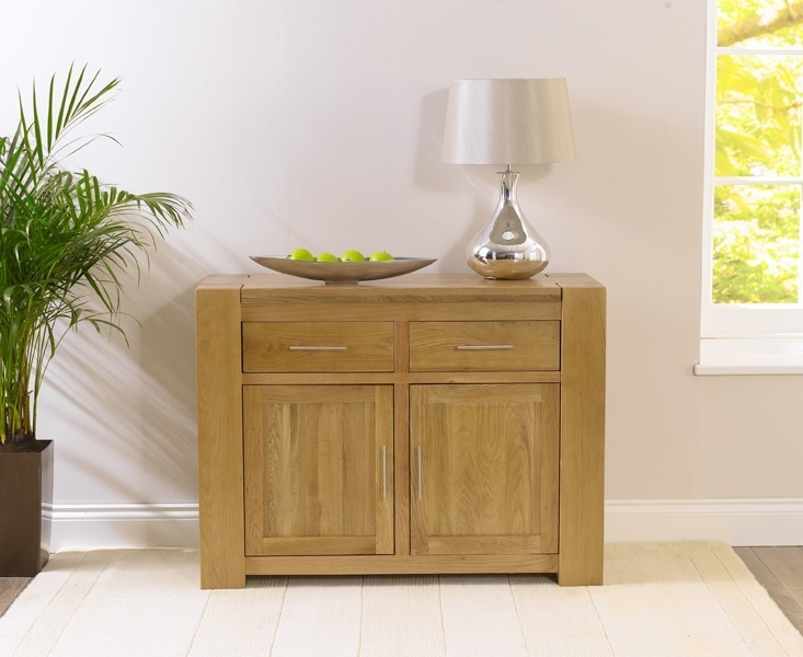 Mark Harris Tampa Solid Oak Medium Sideboard