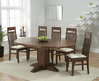 Exceptional Mark Harris Turin Solid Dark Oak Dining Set   125cm Round Extending With 4  Monte Carlo Part 11