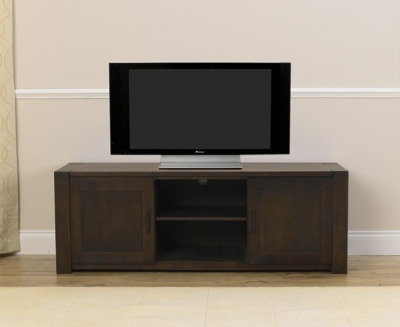 Mark Harris Verona Solid Dark Oak TV Unit