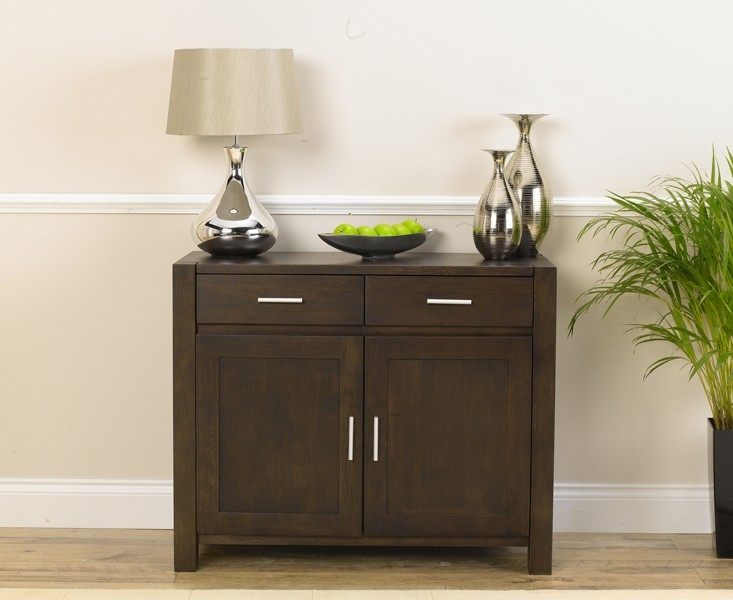 Mark Harris Verona Solid Dark Oak Medium Sideboard