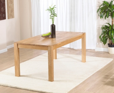 Mark Harris Verona Oak Medium Extending Dining Table