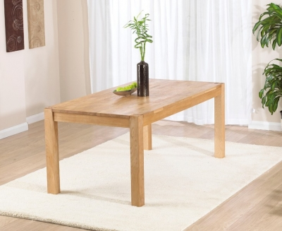 Mark Harris Verona Oak Large Extending Dining Table