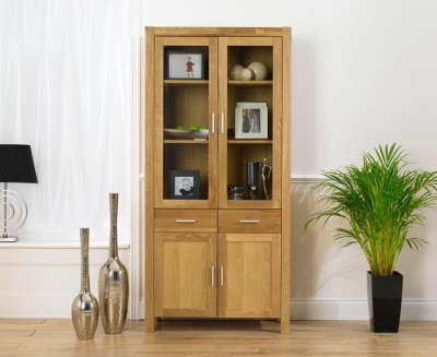 Mark Harris Verona Solid Oak Display Unit
