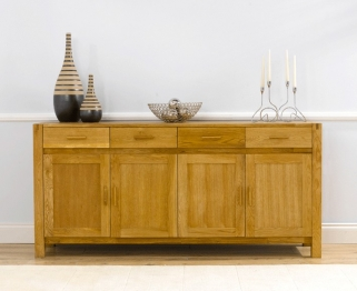 Mark Harris Verona Solid Oak Extra Large Sideboard