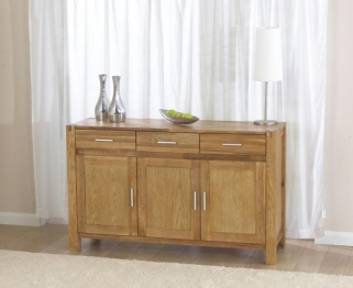 Mark Harris Verona Solid Oak Large Sideboard