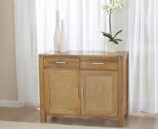 Mark Harris Verona Solid Oak Medium Sideboard