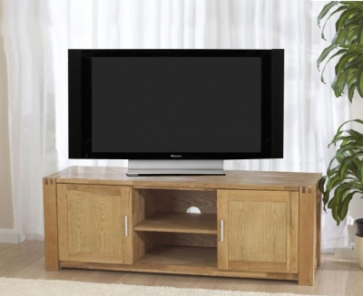 Mark Harris Verona Solid Oak TV Unit