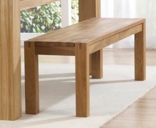 Mark Harris Verona Solid Oak Bench