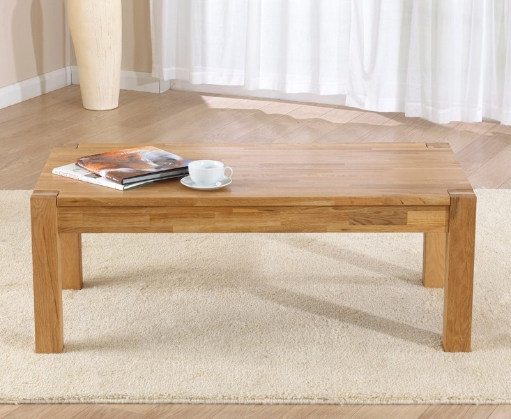 Mark Harris Verona Solid Oak Coffee Table