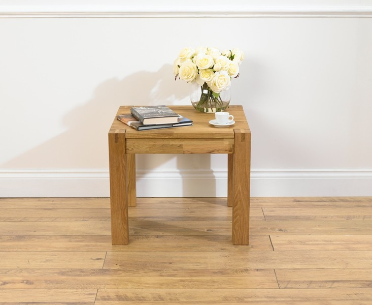 Mark Harris Verona Solid Oak Lamp Table