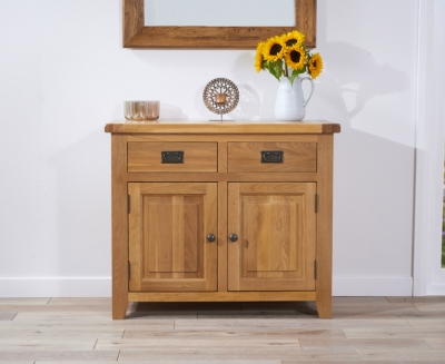 Mark Harris York Solid Oak 100cm Sideboard