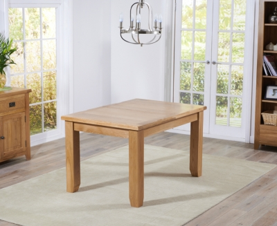Mark Harris York Oak Extending Dining Table