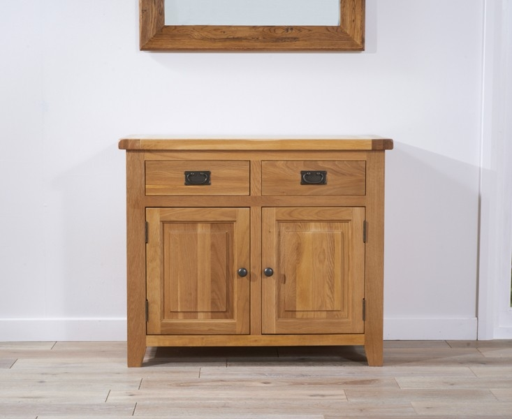 Mark Harris York Solid Oak Sideboard - 100cm