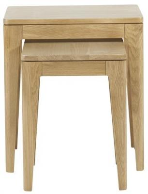 Mark Webster Ava Oak Nest of Tables