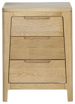 Mark Webster Ava Oak Nightstand - 3 Drawer